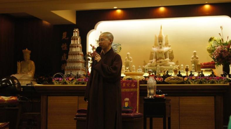 Buddhist Monk.